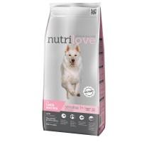 Nutrilove Sensitive для чувствительных собак с ягненком 3 кг