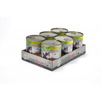 Nutrilove консерва aппетитный паштет - меню из ягненкa (6x800г)