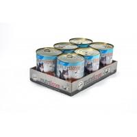 Nutrilove консерва aппетитный паштет - меню из лосося (6x800г)