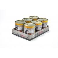 Nutrilove консерва aппетитный паштет - куриное меню (6x800г)