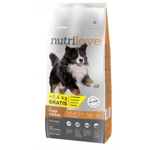 Nutrilove Adult L для взрослых собак с курицей 14 кг