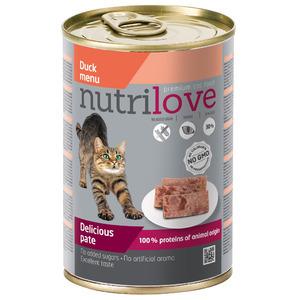 Nutrilove консерва паштет из утки 0.415gr