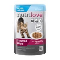 NutriLove пауч консервированный корм для взрослых кошек 85 gr