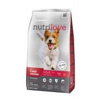 Nutrilove Adult S для взрослых собак маленьких пород с курицей 1,6кг