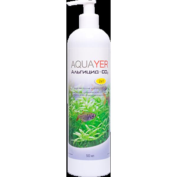 Средство против водорослей AQUAYER Альгицид+СО2 500мл