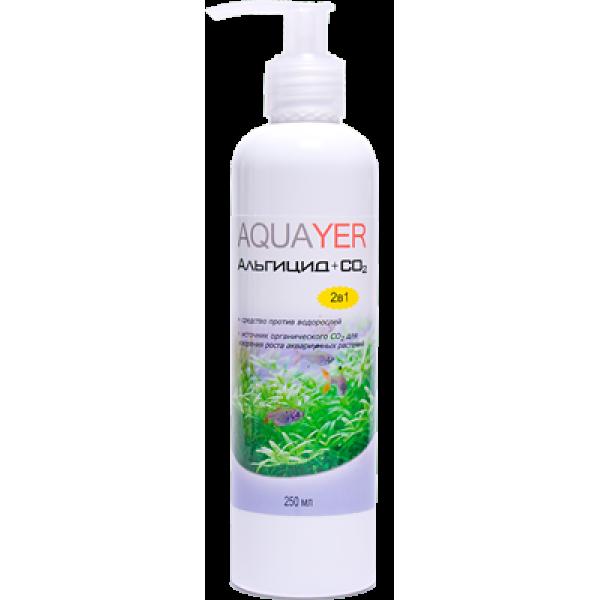 Средство против водорослей AQUAYER Альгицид+СО2 250мл