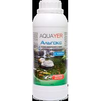 AQUAYER Альгокс средство против зеленых водорослей в прудах 1л