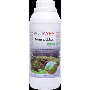 AQUAYER АльгоШок 1л против зеленых водорослей