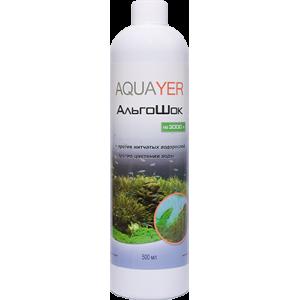 AQUAYER АльгоШок 500мл против зеленых водорослей