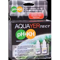 AQUAYER тест для аквариумной воды рН(кислотность) и КН (карбонатная жесткость)