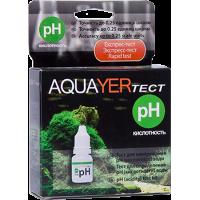 AQUAYER тест для аквариумной воды рН(кислотность)