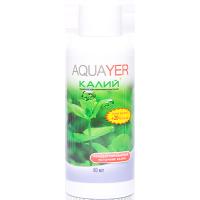 Удобрение для аквариумных растений AQUAYER Удо Ермолаева КАЛИЙ+ 60мл