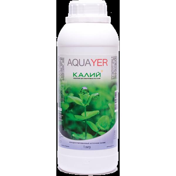Удобрение для аквариумных растений AQUAYER Удо Ермолаева КАЛИЙ+ 1л