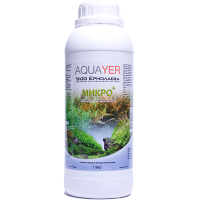 Удобрение для аквариумных растений AQUAYER Удо Ермолаева МИКРО+ 1л