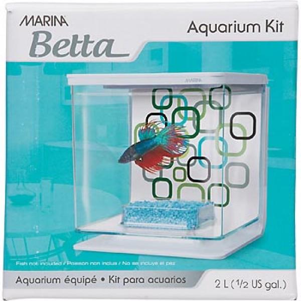 Hagen Marina Betta Kit Geo Bubbles для петушка 2 л