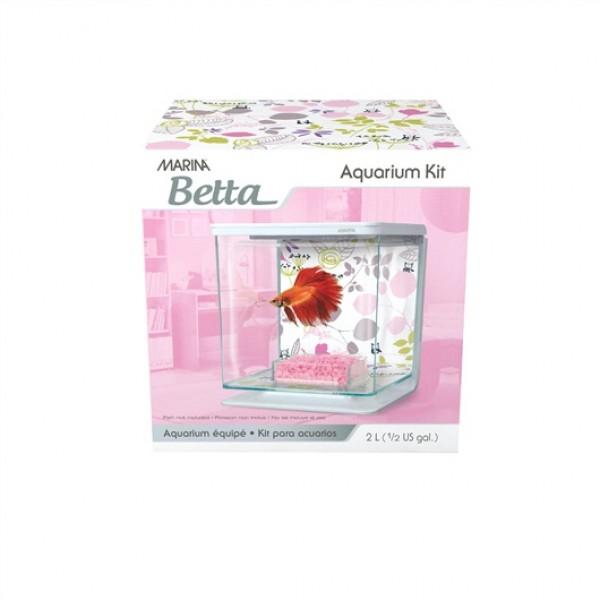 Hagen Marina Betta Kit Floral для петушка 2 л