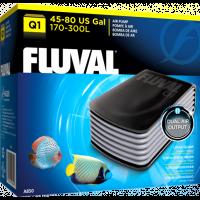 Компрессор для аквариума двухканальный бесшумный Fluval Q1