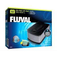 Компрессор для аквариума двухканальный бесшумный Fluval Q2