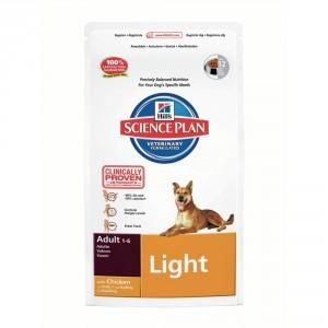 Hill`s Canine Adult Light контроля избыточного веса корм для взрослых собак (курица) 12 кг