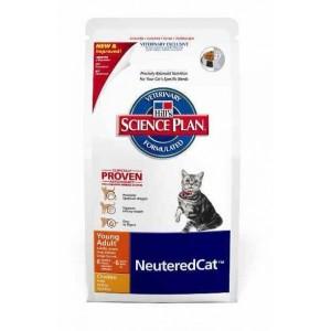 Hill`s Feline Adult Young NeuteredCat для кастрирированных/стерилизованных (курица) 3,5 кг