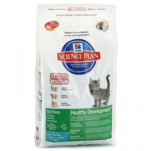 HILLS Kitten корм для котят (тунец) 2 кг