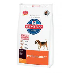 Hill`s Canine Adult Performance для активных, рабочих собак (курица) 12 кг