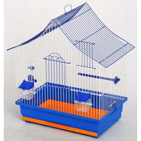 """Клетка для птиц """"Алиса"""" цинк (470х300х540), разборная"""