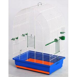"""Клетка для птиц """"Люси"""" цинк (470х300х670)"""