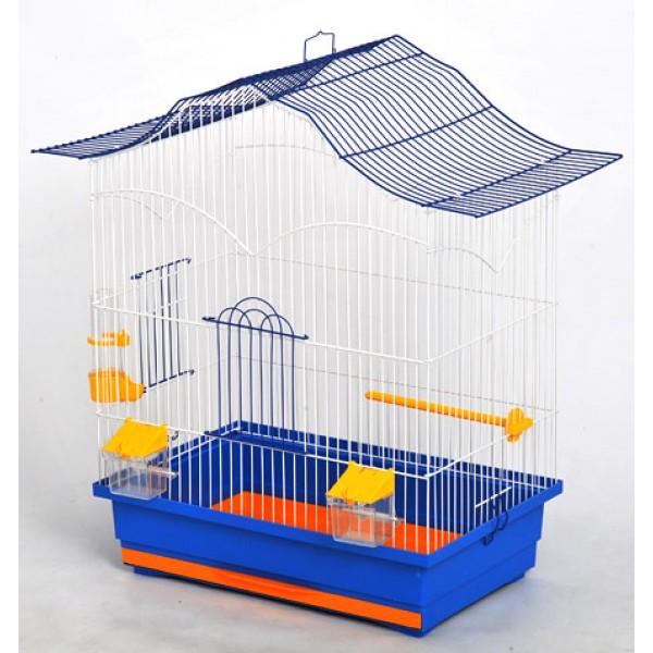 "Клетка для птиц  ""Лори"" краска (470х300х620), разборная"