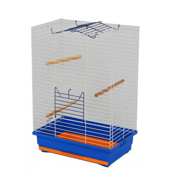 """Клетка для птиц """"Нимфа"""" цинк (470х300х660)"""