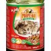 Propesko консервы для кошки с кроликом, домашней птицей и морковью в желе, 415 г