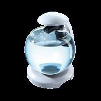 Аквариум Tetra Cascade Globe White 6,8л для петушка и золотой рыбки
