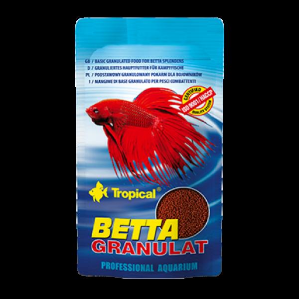 Сухой корм Tropical Betta Granulat для петушков, 10g
