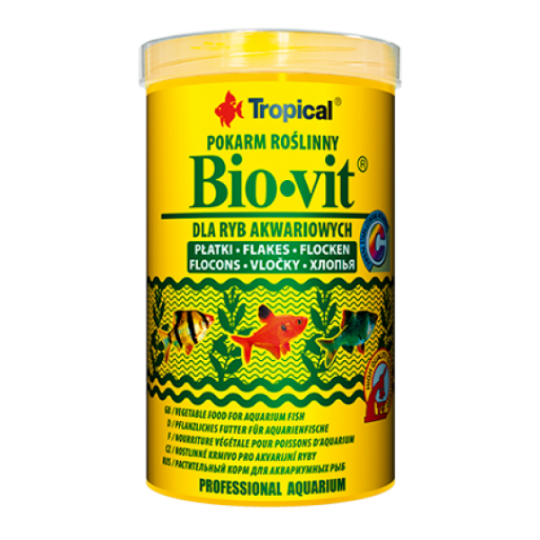 Сухой корм Tropical Bio-vit для аквариумных рыб, 12g