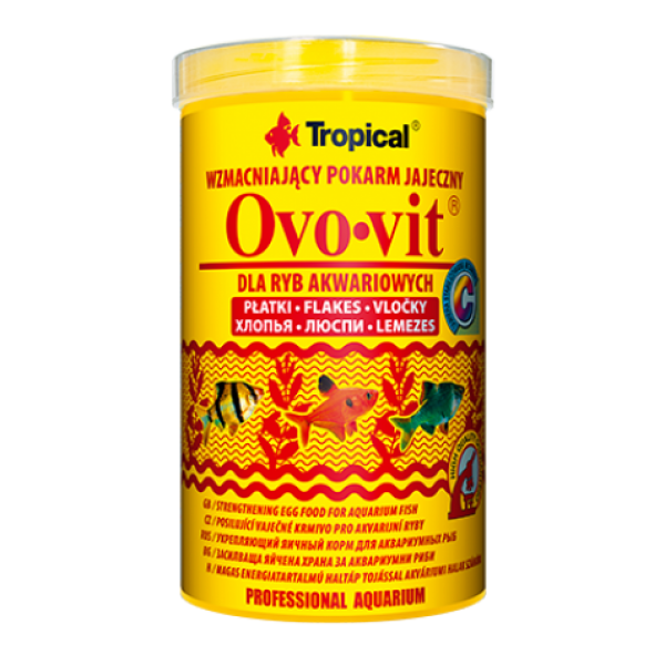 Сухой корм Tropical Ovo-vit для всех рыб,12g