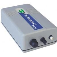 Компрессор для аквариума внешний одноканальный на батарейках RS-212 1 L/min