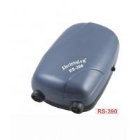 Компрессор для аквариума воздушный двухканальный RS-390 3.5 л/мин