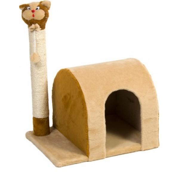 Дряпка «Кошка-дом» 37х53х46 см