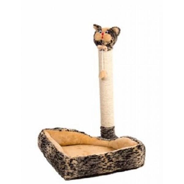 Дряпка «Кошка-лежак» 39х53х39 см
