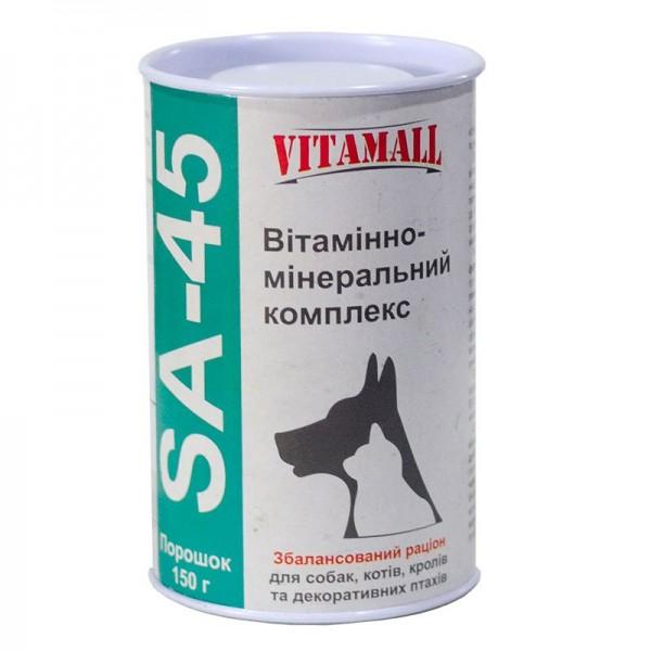 Витаминно-минеральная добавка из витаминов и минералов 150гр Vitamall  SА-45